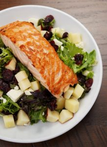 Southern Salmon Salad at Hometown Roots