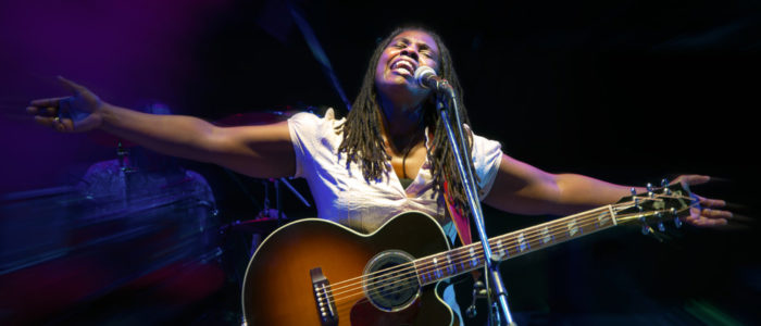 Ruthie Foster performs at Handy Fest